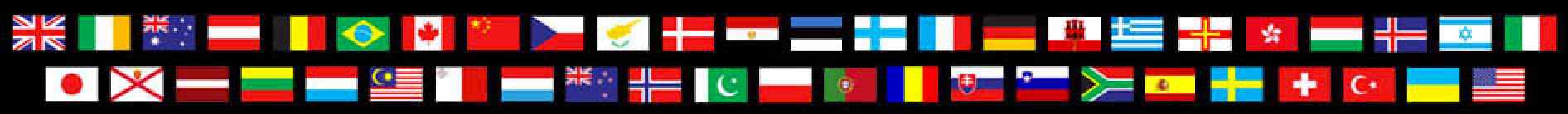 47 Countries Worldwide